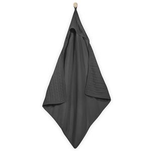 Jollein Capo da Bagno 75x75 cm a Maglia Cavo Antracite