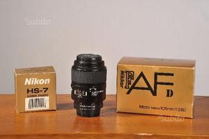 NIKKOR 105mm micro f2.8D