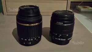 Obiettivo Canon mm + Tamron mm