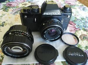 Pentax Lx con SMC 50mm 1.4 e SMC 28mm 2.8