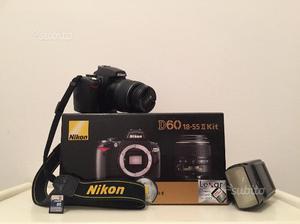 Perfetta nikon d60 + tutti gli accessori