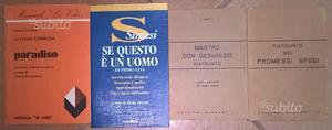 Raccolta libri classici della letteratura italiana