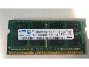 Samsung modulo Memoria 4 Gb DDR3 SODIMM 2RX8