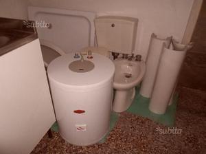 Sanitari bagno lavandino boiler wc bidet doccia