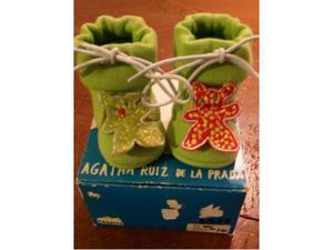 Scarpine neonato verdi nuove Agatha Ruiz de La Prada num. 16