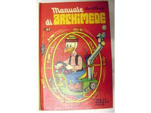 """(080) - Disney """"Manuale di Archimede"""" ()"""
