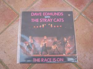 45 giri introvabile stray cats e dave edmunds - the race is
