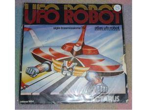 Atlas ufo robot goldrake sigla originale 45 giri