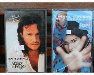 Biagio antonacci laura pausini cassette nuove in spagnolo
