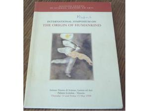 International Symposium on the origin of the Humankind