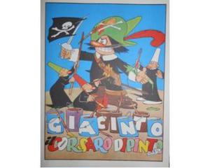 Jacovitti - Giacinto il corsaro dipinto