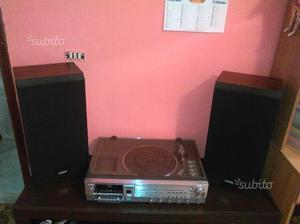 Kit stereo giradischi e casse
