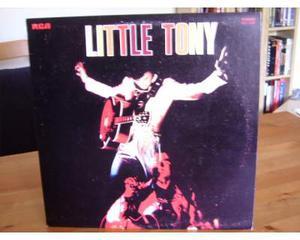 Lp little tony lp promo et. bianca  mai suonato