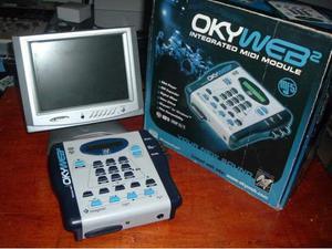 M Live Oky web 2 + scheda memoria + monitor lcd Usato