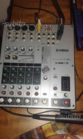 Mixer yamaha 6 canali