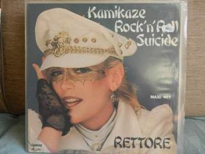 Rettore maxy 45 kamikaze rock'n roll suicide