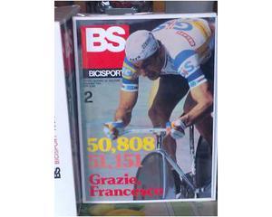 "Rivista ciclismo ""BICISPORT"" dal n.1 al n.102 + altri n.ri"
