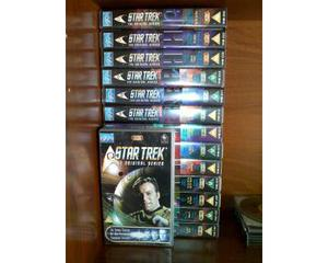 Star trek tos - serie classica - lotto vhs in lingua