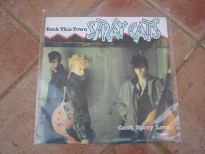 Stray cats - 45 giri introvabile - rock this town/ can't