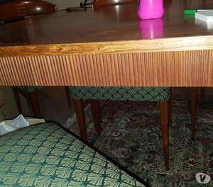 Tavolo foppapedretti senegal in legno teak posot class for Tavolo legno teak