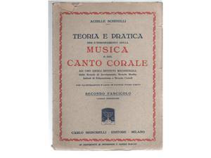 Teoria e pratica per lâ€(TM)insegmamento della musica