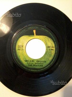 The Beatles 45 giri raro senza custodia