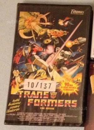 Transformers VHS