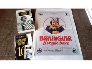 VHS - BERLINGUER TI VOGLIO BENE + locandina del film