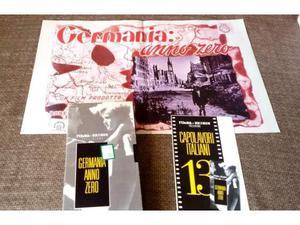 VHS - GERMANIA ANNO ZERO L'Unità N.13 + locandina del film