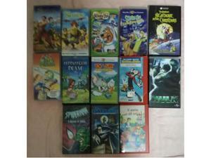 Videocassette vhs cartoni animati