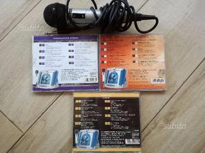 3 Cd Videokaraoke Canta Tu + Microfono