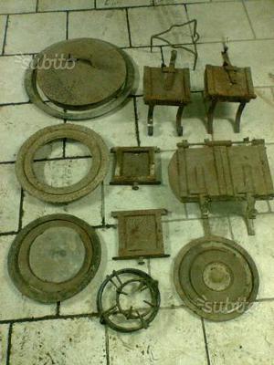 Accessori per cucina di legno antica