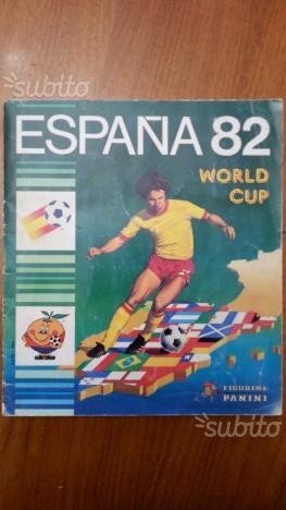 Album figurine panini mondiali espana 82 completo