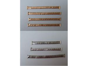 Cinturini-bracciali elasticizzati in acciaio