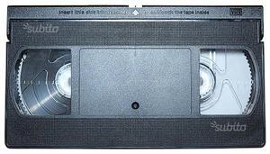 Collezione videocassette vhs