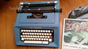 Macchina da scrivere vintage Olivetti Studio 46