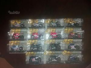 """Modellini moto Valentino Rossi """"tutte le mie moto"""""""