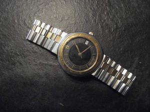 Orologio FERRARI vintage da collezione, acciaio oro