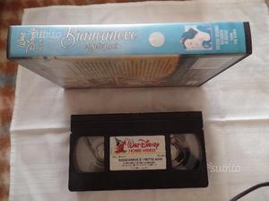 Vassette VHS cartoni animati