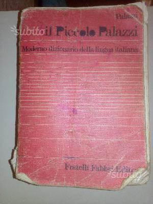 """Vocabolario """"Il Piccolo Palazzi"""" Fabbri Editori An"""