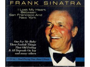 3 CD- FRANK SINATRA I Lost My Heart Between San Francisco &