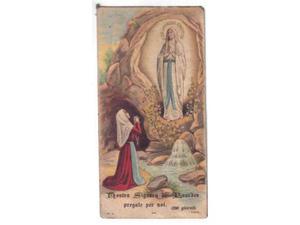 31 - santino madonna di lourdes