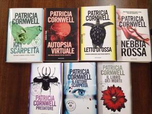 7 libri di Patricia Cornwell