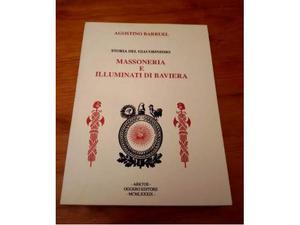 Agostino Barruel, Massoneria e Illuminati di Baviera