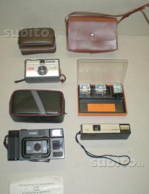 Blocco macchine fotografiche originali vanper