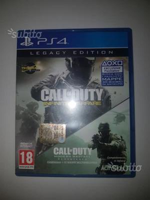 Call of duty infinite warfare ps4 vend0 o scambi0