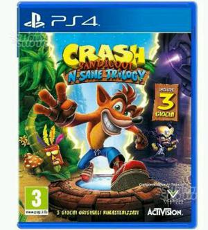 Cer.co Crash Bandicoot per ps4