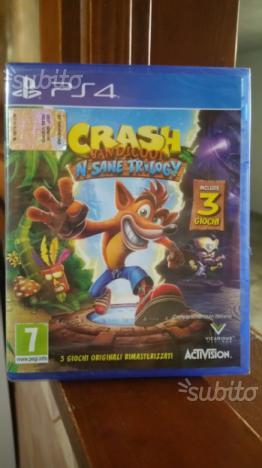 Crash Bandicot N'sane trilogy - Nuovi - PS4