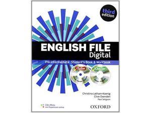 English File Digital Pre-Intermediate with key 3rd Edition