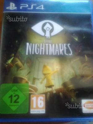 Gioco ps4 little nightmares originale